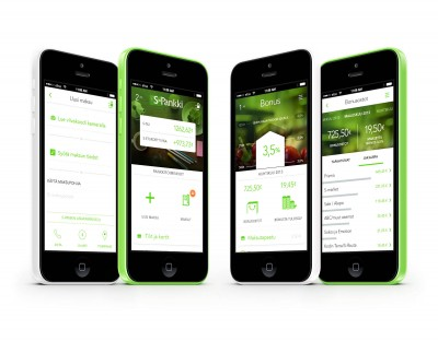 S-Mobiili – mobiilipalvelun konseptointi, UX- ja visuaalinen suunnittelu
