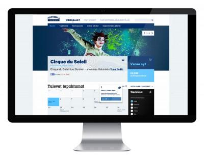Hartwall Arena – responsiivisen verkkosivuston suunnittelu