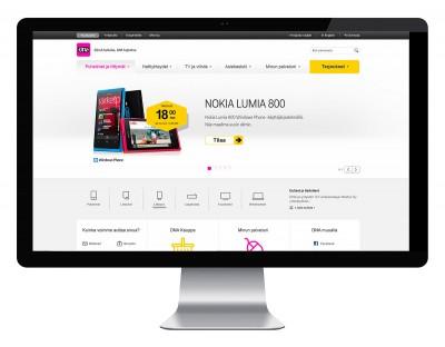 dna.fi – responsiivisen verkkosivuston suunnittelu
