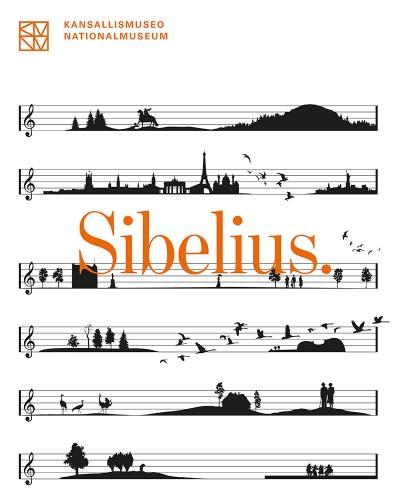 Sibelius -näyttelyn visuaalinen ilme ja markkinointiviestintä