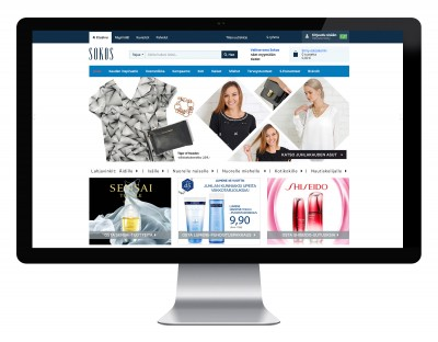 Sokos.fi – visuaalinen suunnittelu
